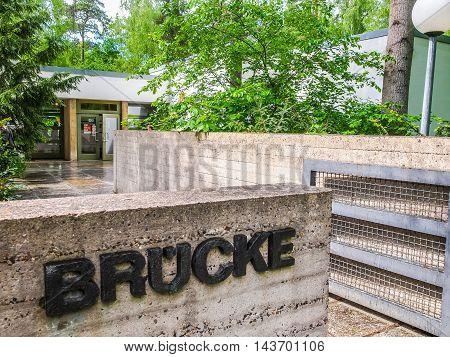 Bruecke Museum Berlin (hdr)
