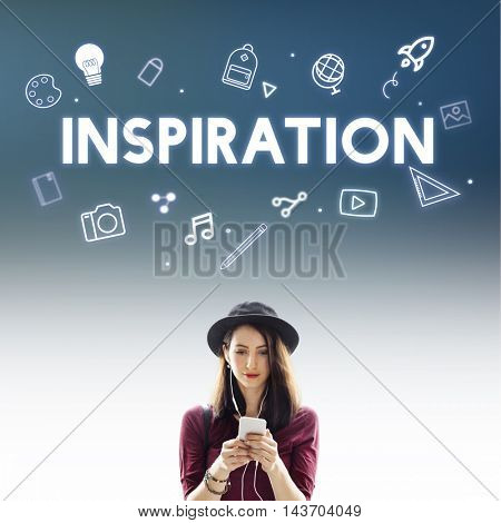 Creative Ideas Design Imagination Innovation Concept