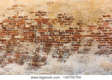 Background Texture From Brick Wall