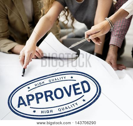 100% Approved Exclusive Guarantee Product Concept