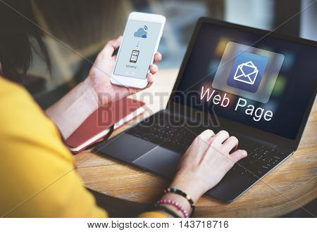 Email Message Data Digital Electronic Graphic Concept