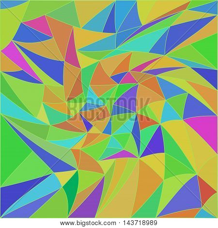 Vector 3d effect abstract pattern. Optical illusion.