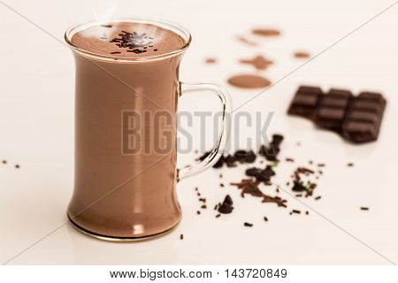 morning chocolate cafe flavor vintage mug sweet beans rustic christmas white breakfast background bar cinnamon closeup relax coffee brown black taste traditional spices warm gourmet nut aroma delicious cookie tasty star beverage dessert hot cup wooden ani