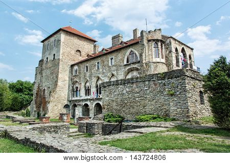 Beautiful Castle In Tata, Hungary, Architectural Theme