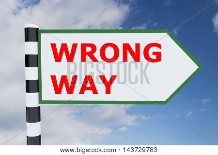 Wrong Way Concept