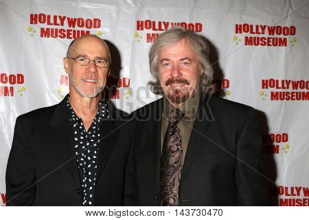 LOS ANGELES - AUG 18:  Barry Livingston, Stanley Livingston at the