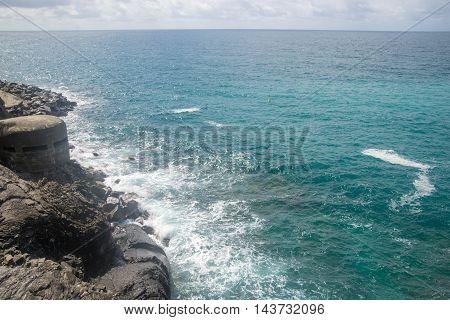 Sea Cost In Italy Liguria Cinque Terre