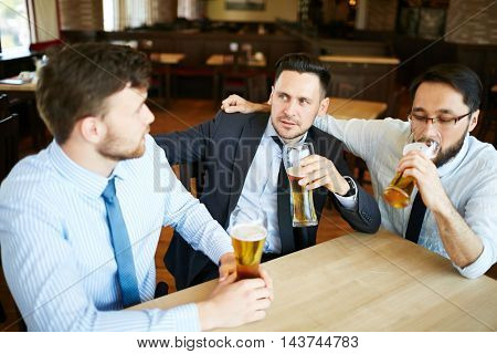 Businessmen Relaxing