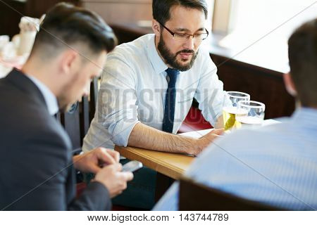 Businessmen after Work