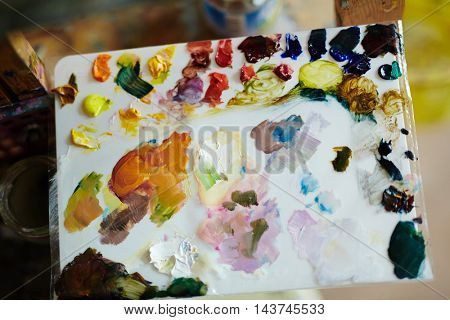 Colorful Painting Palette