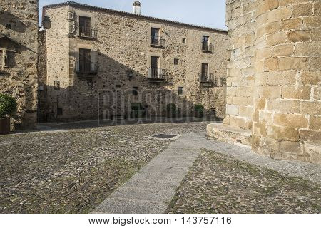 Medieval City Of Caceres