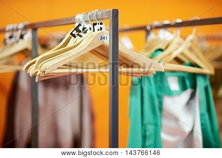 public locker room, abstract background with beautiful blur