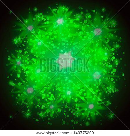 Abstract Shiny Sparkle Twinkle Background