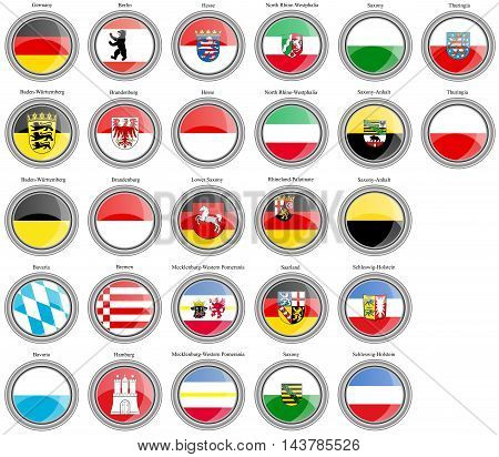 States Of Germany Flags