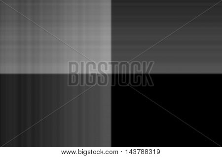 Illustration of grey and black smudged squares