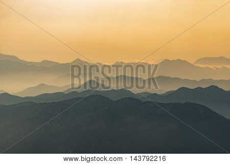 high mountain ,  wonderful and fascinating mountain ranges