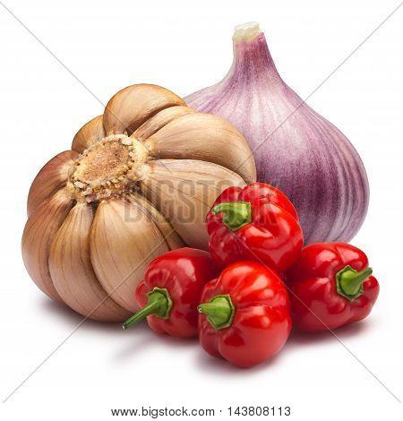 Garlic With Habaneros - Hot Sauce Ingredients, Paths