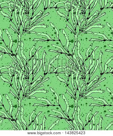 Kelp Seaweed Green With Texture