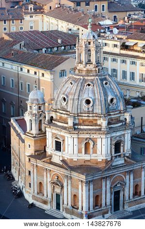 Rome City View, Italy.
