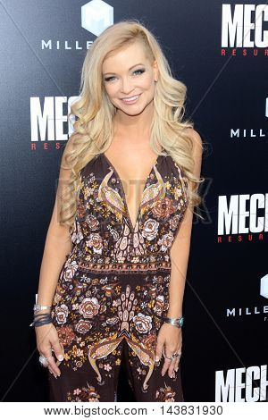 LOS ANGELES - AUG 22:  Mindy Robinson at the