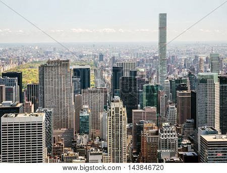 Midtown Manhattan And Upper East Side
