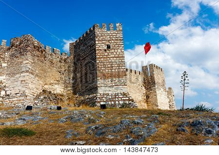 Citadel near Ephesus. Selcuk Town in Turkey