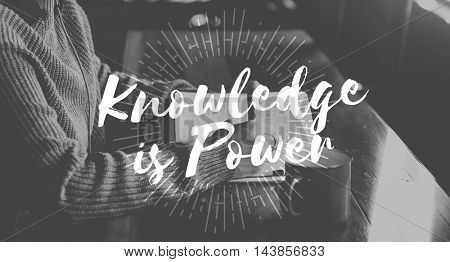 Knowledge is Power Education Wisdom Success Concept