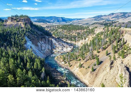 Yellowstone River Near Tower Fall