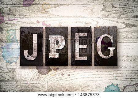 Jpeg Concept Metal Letterpress Type