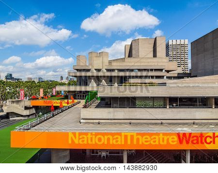 National Theatre London (hdr)
