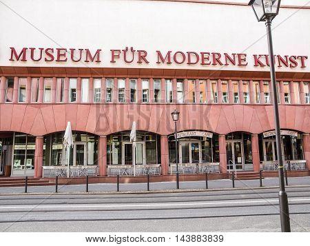 Museum Fuer Moderne Kunst (hdr)