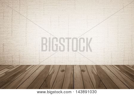 Wooden floor on Brownish background Brownish and white colors