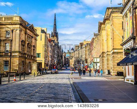Royal Mile, Edinburgh (hdr)