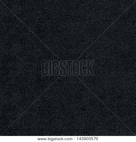 Black texture with effect paint. Empty surface background with space for text or sign. Quickly easy repaint it in any color. Template in square format. Vector illustration swatch in 8 eps