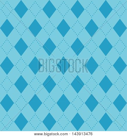Abstract geometry vector background in blue tones