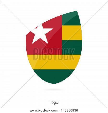 Flag Of Togo. Togo Rugby Flag.