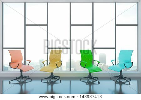 Swivel Chairs In Room