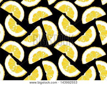 Lemon Pattern Vintage Style 1