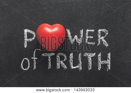 Power Of Truth Heart