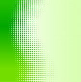 Green half-tone background. Vector illustration. poster