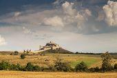 Rupea medieval fortress, in Brasov county, Transylvania poster
