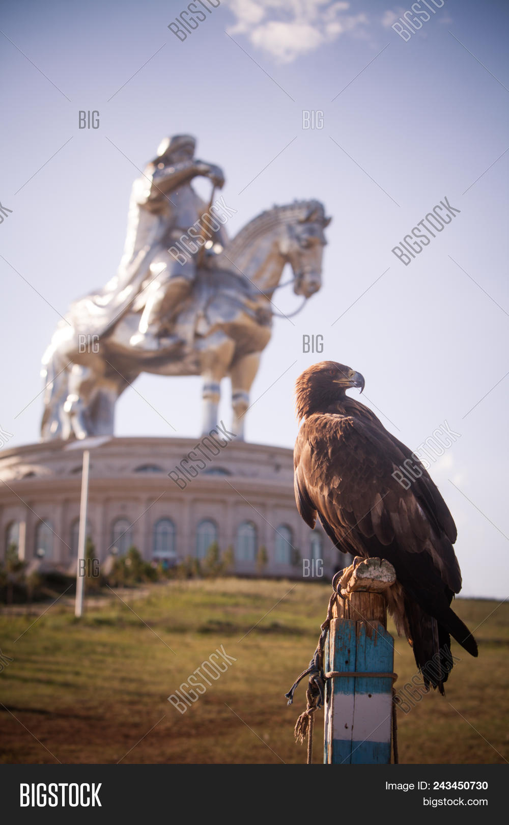Vulture Genghis Khan Image Photo Free Trial Bigstock