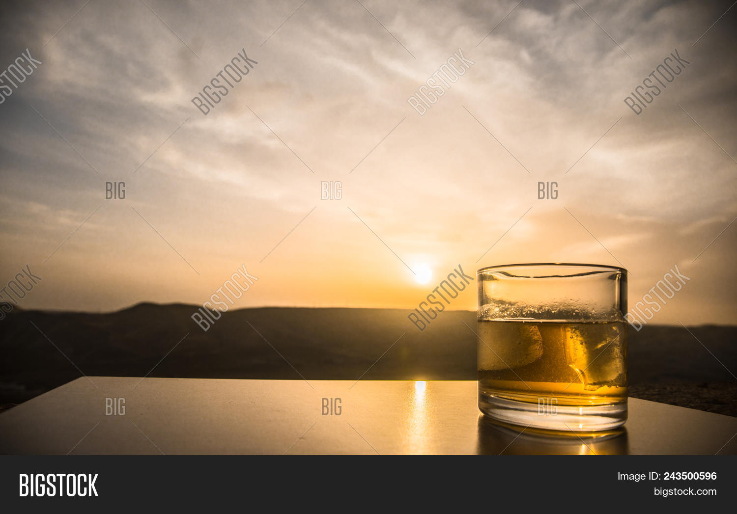 Glass Whiskey Ice On Image & Photo (Free Trial) | Bigstock