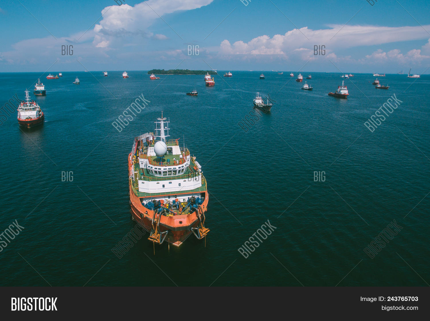 Offshore Oil Gas Image & Photo (Free Trial)   Bigstock