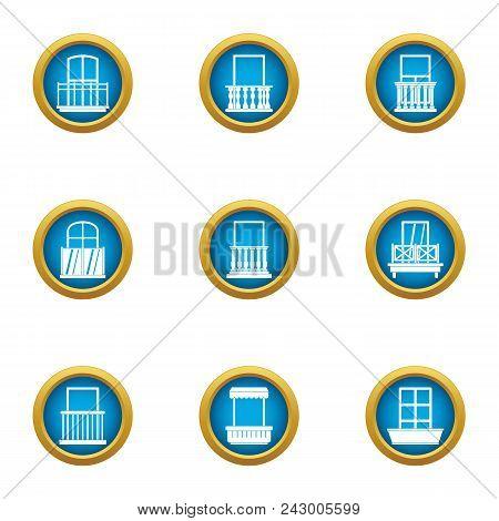 Pane Icons Set. Flat Set Of 9 Pane Vector Icons For Web Isolated On White Background