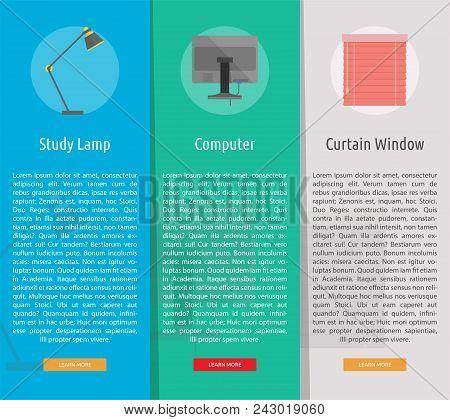 Multimedia Vertical Banner Concept | Set Of Great Vertical Banner Flat Design Illustration Concepts