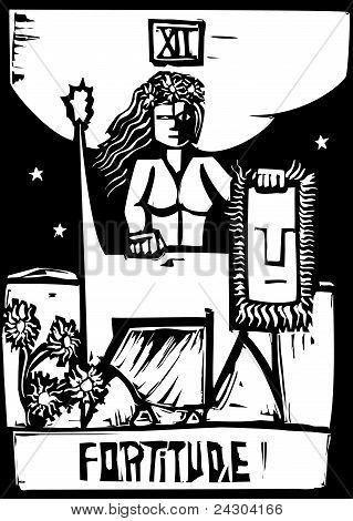 Tarot Card of Fortitude