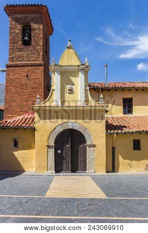 Little Church San Pedro De Los Huertes In Leon, Spain