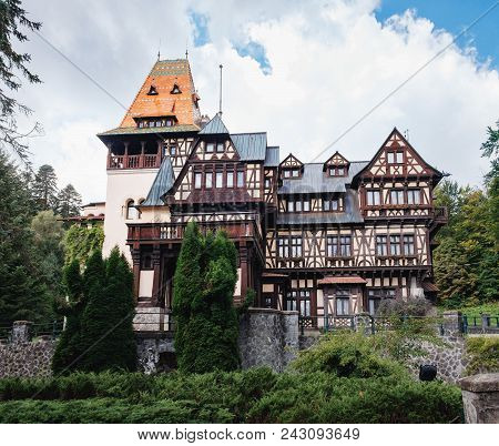 Pelisor Museum, Part Of The Peles Castle, Protected By Unesco World Heritage Site , Located In Sinai