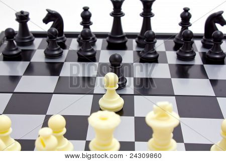 Starting Of Chess Game